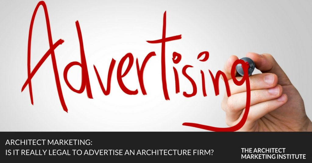 Can Architects Advertise? The Complete History Of