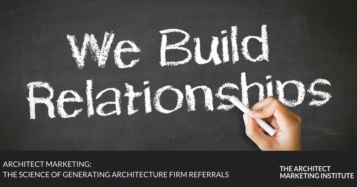 generating architecture firm referrals
