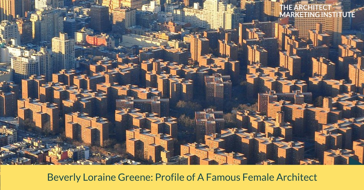 beverly green profile famous female architect