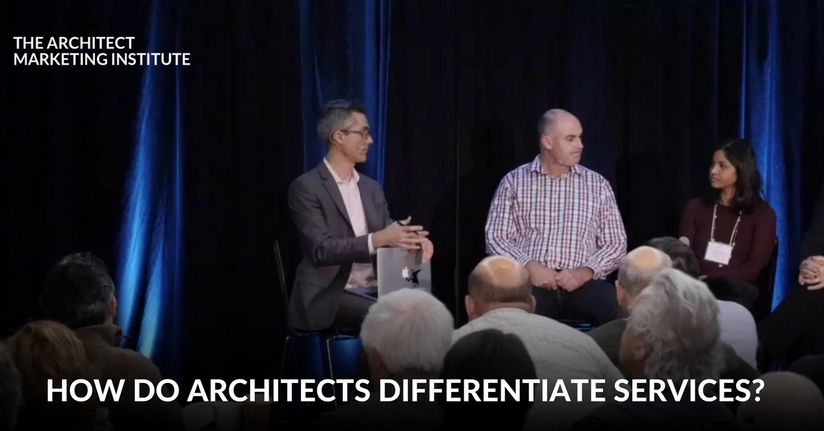 how do architects differentiate services