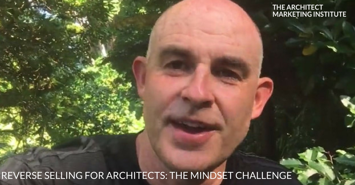 reverse selling for architects photo
